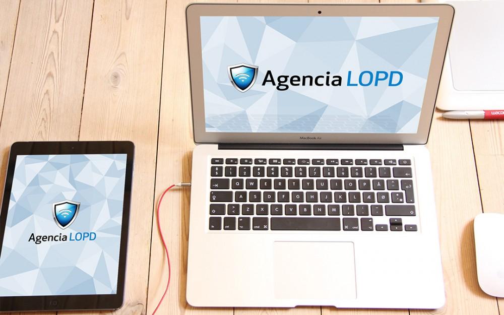 Diseño de Logo - Agencia LOPD - Natalia Mikhaylov
