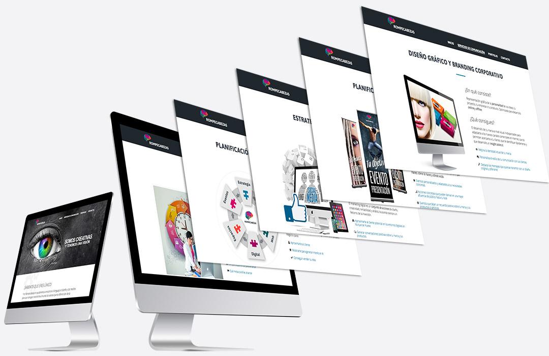 Screenshots - Diseño Web Rompecabezas
