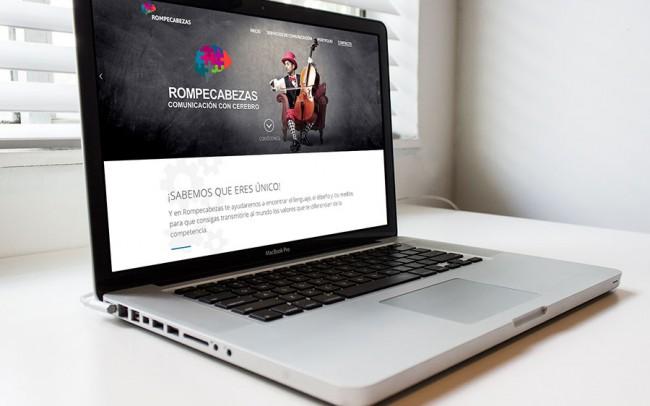 Diseño Web - Wordpress - Dirección Artística - Rompecabezas