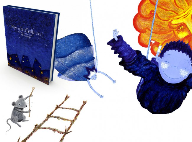 Miko y la Estrella Azul - Libro Álbum Ilustrado - Imagen destacada